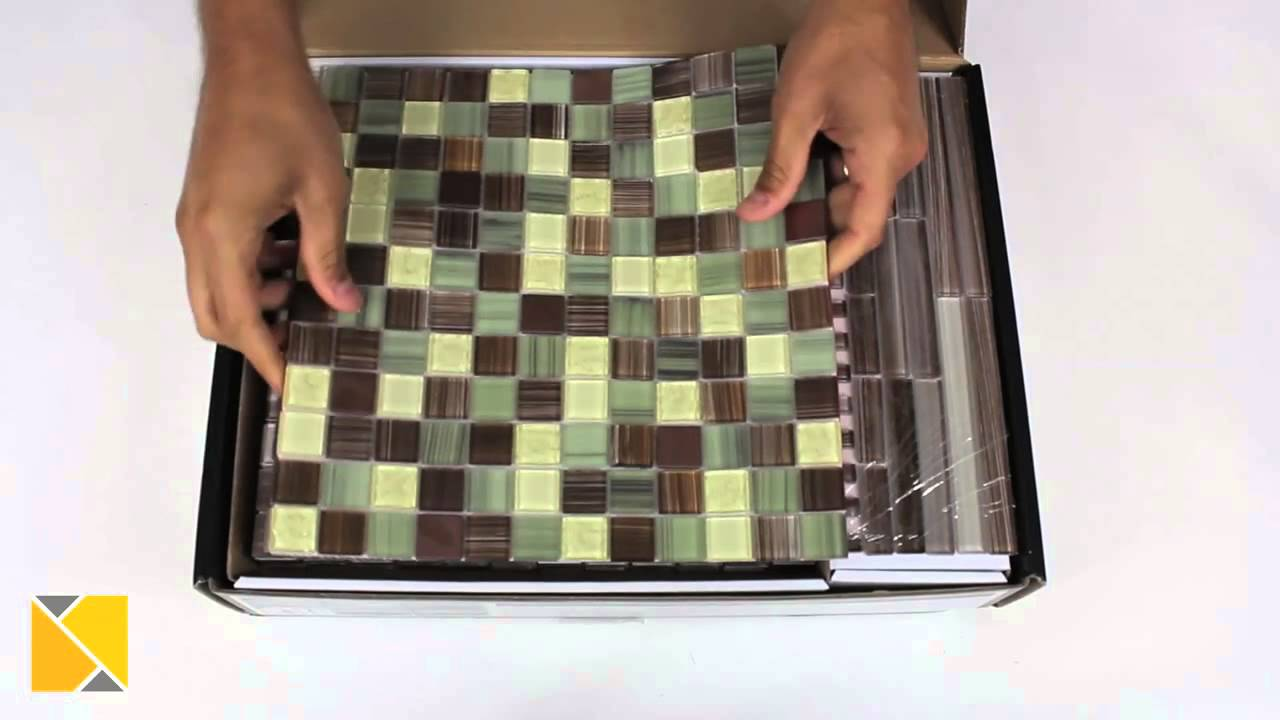- DIY Backsplash Peel And Stick Glass Tile Kit Review - YouTube