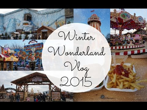 VLOG | Winter Wonderland Hyde Park, London 2015 | AJW