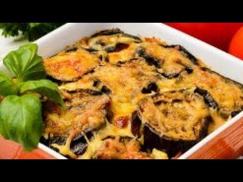 gratin-d'aubergines-et-viande-hachée-ڭرثان-بالبدنجان-لذيذ-جدا
