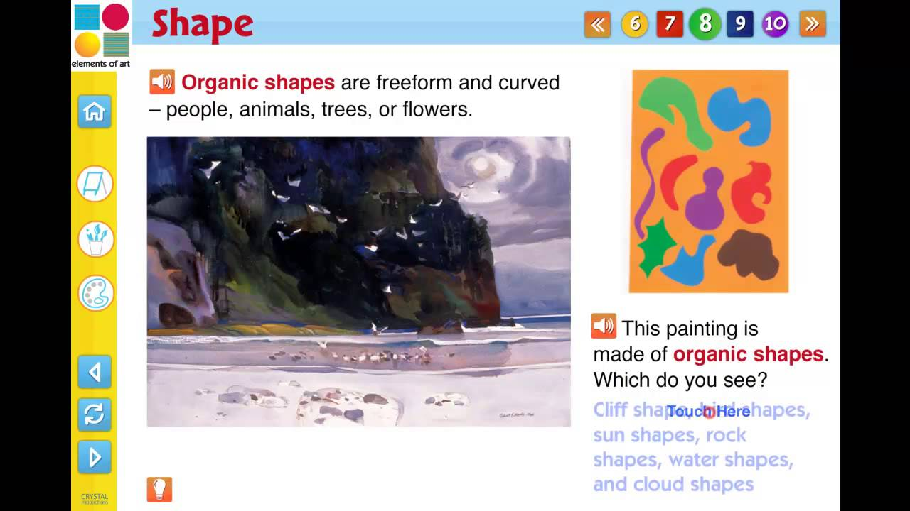 8 Art Elements : Elements of art interactive digital lesson plan cd rom preview