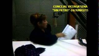 CONCEJAL VICENTA SENA -SINFILTRO
