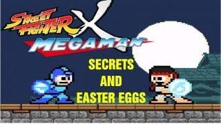 Street Fighter X Mega Man: Secrets and Easter Eggs!