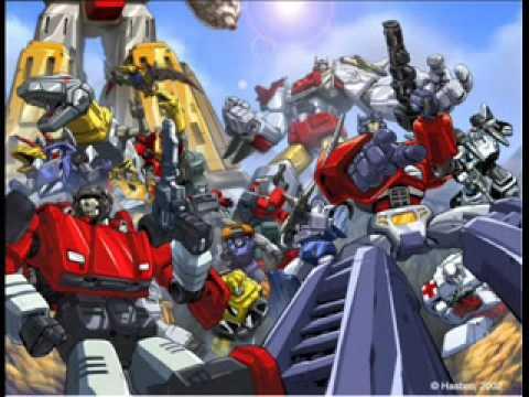 Transformers Theme-Mute Math
