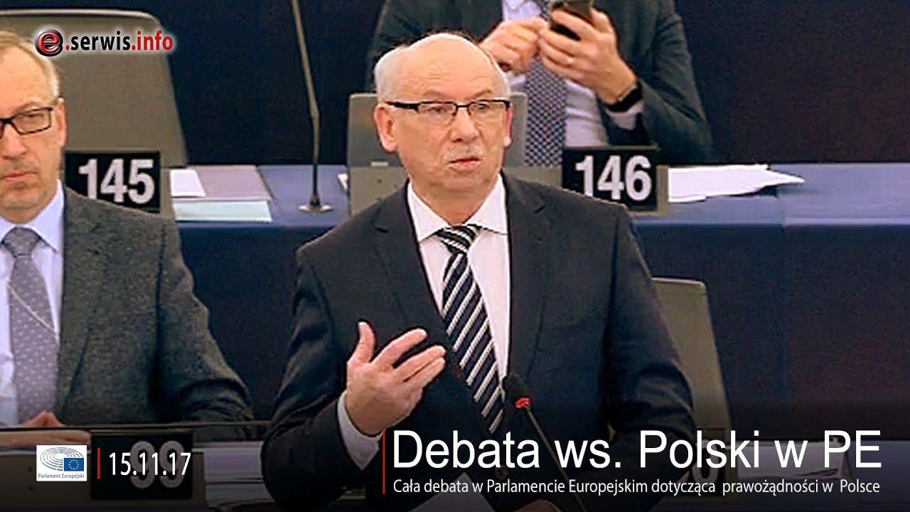 Debata ws. Polski w Parlamencie Europejskim