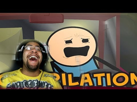 Cyanide & Happiness Compilation #4 REACTION