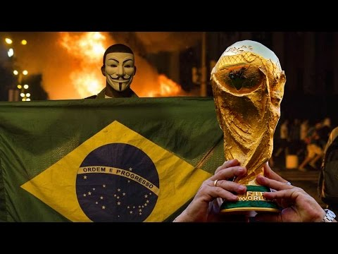 Brazil World Cup Riots and Government Conspiracy Against the Poor with Pedro Rios