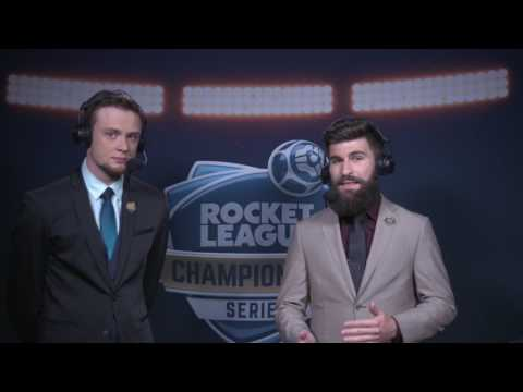 Rocket League Gameplay - Denial vs Alpha Sydney - Upper Round 1 Grand Finals RLCS S3