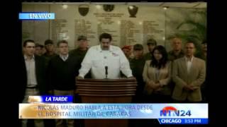 Nicolás Maduro Confirma Muerte De Hugo Chávez