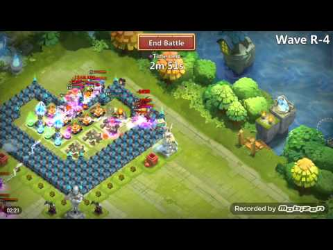 Castle Clash Best Heart Base For Th 17 And HBM R