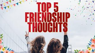 Top 5 Friendship Thought || Saddam Hossain Tajbid