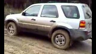 ford escape off road trip 4 vid 4