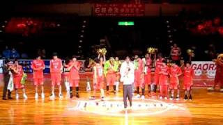 Basketball Japan League Season 2010/2011@Hamamatsu Arena