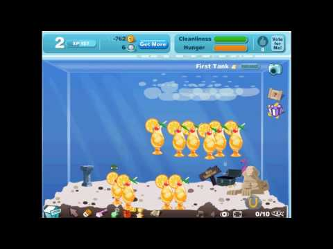 Facebook Happy Aquarium coins cheat 快樂水族箱 洗錢修改密技