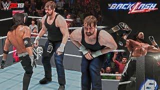 WWE 2K19: AJ Styles First WWE Championship Win! (vs Dean Ambrose - Backlash 2016)
