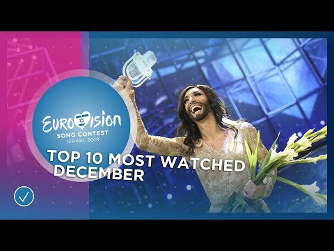 TOP 10: Most watched in December 2018 - Eurovision Song Contest