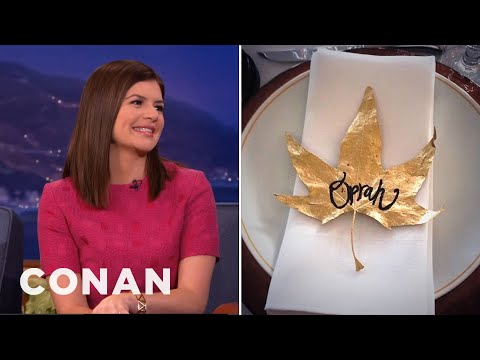 Casey Wilson Invites Oprah To Her Big Events  - CONAN on TBS