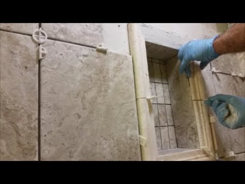 How To Tile A Shower Niche - Step By Step - Do It Yourself ...