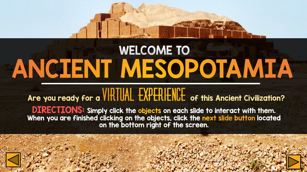 Mesopotamian civilization. Aspects architecture interiors. Ppt.