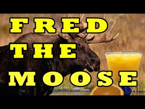 FRED THE MOOSE (The Moose Song) -- THE LEARNING STATION