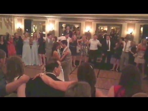 Kylee and Danny Milligan Wedding Reception-Cincinnati Netherlands Hilton Hall of Mirrors