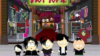 [South Park] Butters \u0026 The Goth Kids (Burn down Hot Topic)