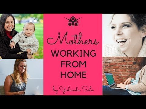 Mothers Working from Home: Top Alternatives to 9-5 Jobs
