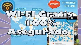 Wifi gratis en todas partes / Wi-fi Map PRO / Android
