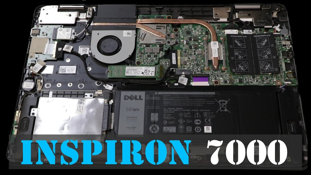 DELL Inspiron 7000 (7778) 2-1 Laptop Review, Upgradability and Tips