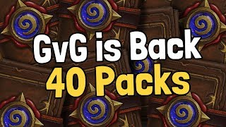 Goblins vs Gnomes is Back with 40 Packs! - Hearthstone