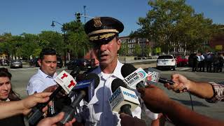 Providence police chief briefing on teen shooting