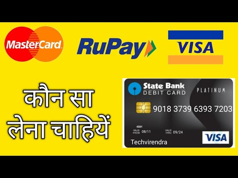 What Is The Difference Between RuPay, Visa, And Mastercard Debit Card