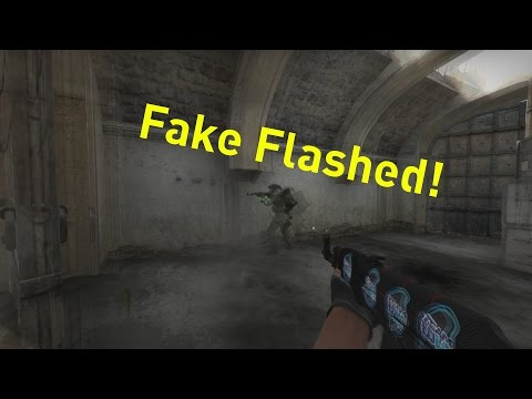 CS:GO | 1v3 clutch + fake flash!