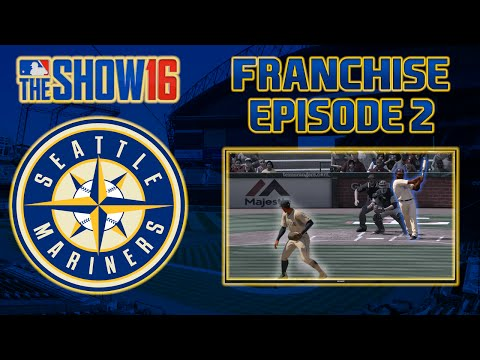 MLB The Show 16 Franchise: Seattle Mariners Ep. 2 | Opening Day!!!