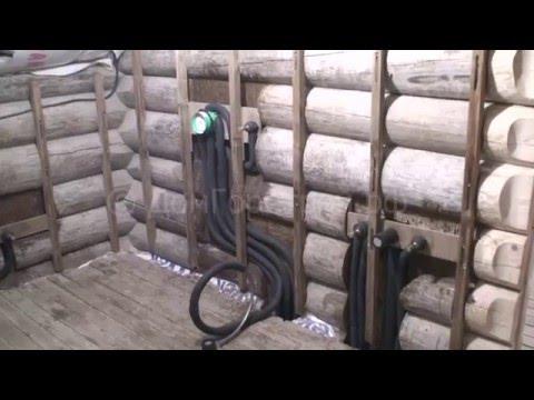 Система водоснабжения ванной комнаты в деревянном доме