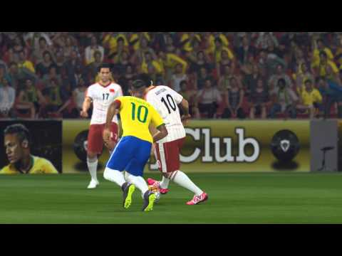 Pro Evolution Soccer 2016: Brazil VS China