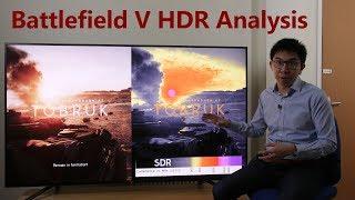 Battlefield V (Xbox One X) 4K HDR Analysis + Slider Settings Tips