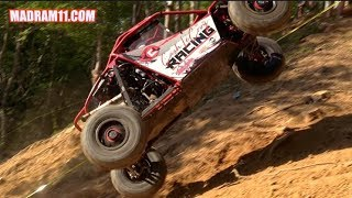 UTV RACERS LAUNCH IT UP BIG HILL AT RACE 2 RICHES 2017
