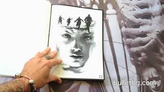 Bullet BG - Digital Artwork Book | Tattoo Reference Book with 50 Tattoo Projects