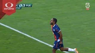 Gol de Angulo | Chivas 1 - 2 Puebla | Clausura 2019 - J15 | Televisa Deportes