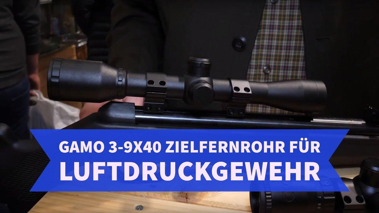 Zielfernrohr für luftgewehr: gamo 3 9x40 zielfernrohr für