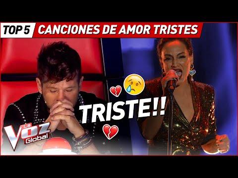 Las MEJORES canciones de AMOR en La Voz
