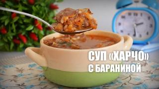 Суп «Харчо» из баранины (Soup «Kharcho» with lamb)