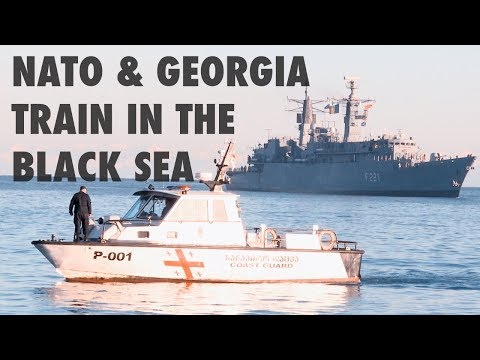 NATO and Georgia train to tackle terrorism in the Black Sea