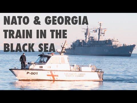NATO and Georgia train to tackle terrorism in the Black Sea