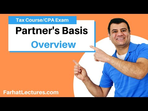 Partners' basis - CPA exam regulation REG  ch 21 p 4