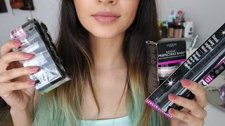 ASMR Mini Beauty Haul ♡ Fast Tapping, Loud Crinkles, Closeup, Whispering