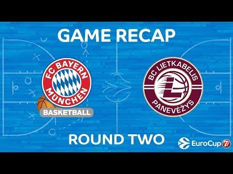 Highlights: FC Bayern Munich - Lietkabelis Panevezys
