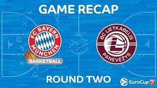 Highlights: FC Bayern Munich - Lietkabelis Panevezys