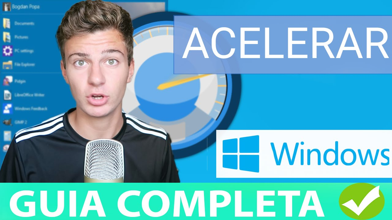 Acelerar Pc Windows 10 8 7 Al Máximo 2017 Windows Mas Rapido