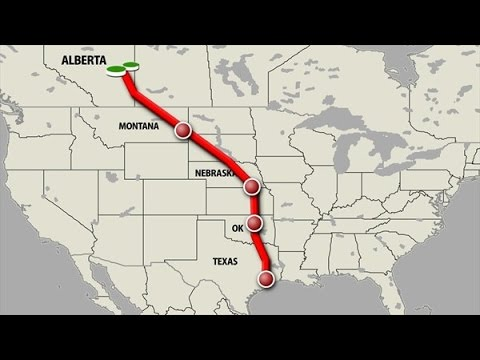 NORTH AMERICAN UNION: KEYSTONE PIPELINE = LAND GRAB BY FOREIGN COUNTRY VIA EMINENT DOMAIN.